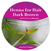 Sample Henna for Hair Dark Brunette Kit