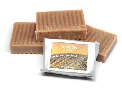 Ancient Sunrise Beer Man soap bar